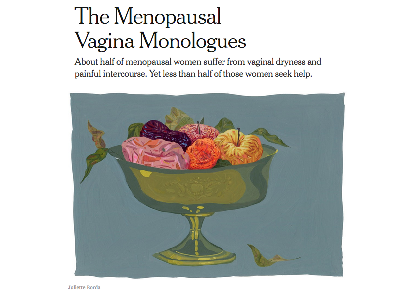 The Menopausal Vagina Monologues